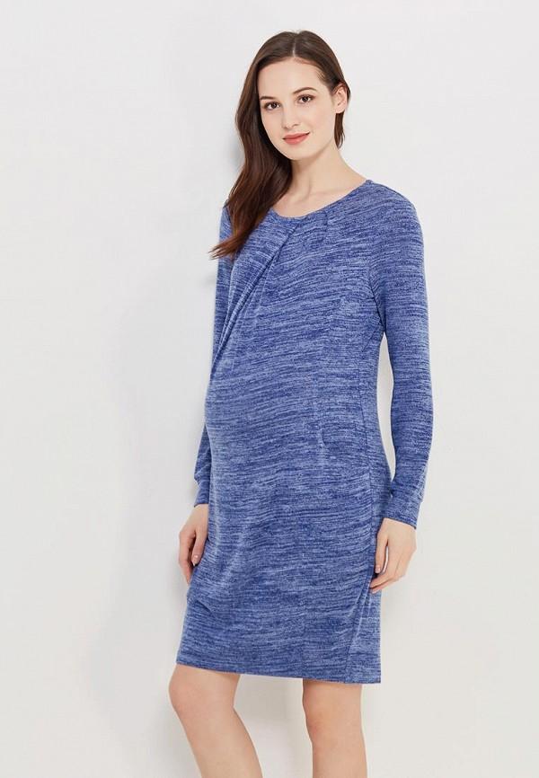 Купить Платье MammySize, ma119ewacwf3, синий, Весна-лето 2018