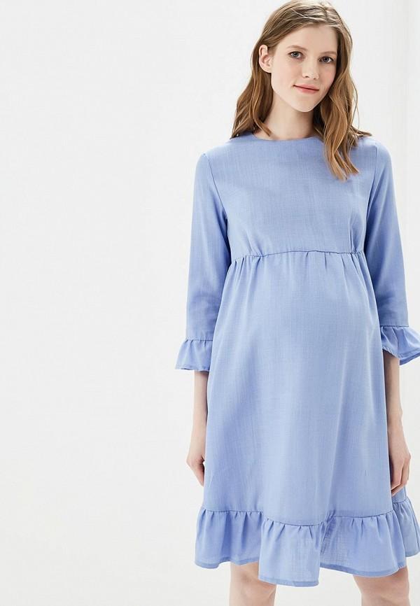 Купить Платье MammySize, ma119ewacwf4, голубой, Весна-лето 2018