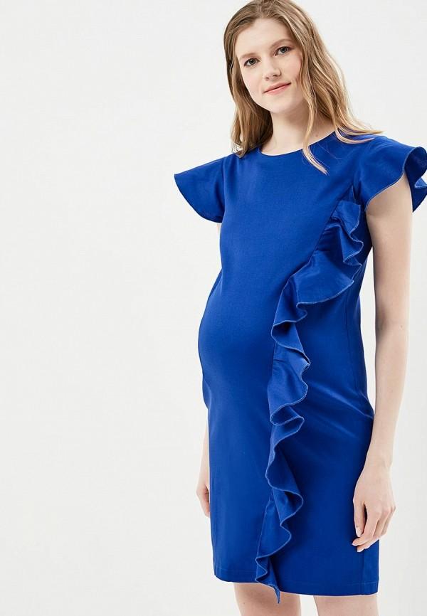Купить Платье MammySize, ma119ewacwf8, синий, Весна-лето 2018