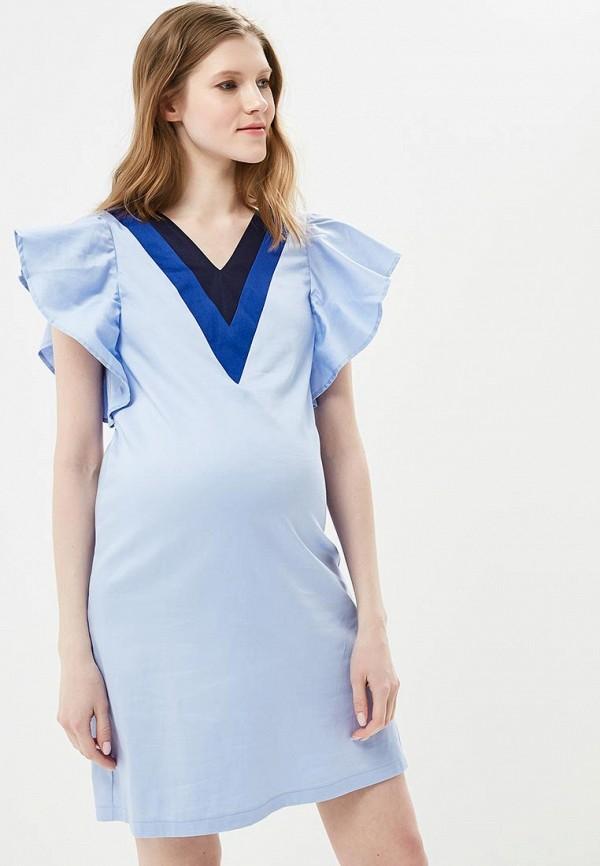 Купить Платье MammySize, ma119ewacwf9, голубой, Весна-лето 2018