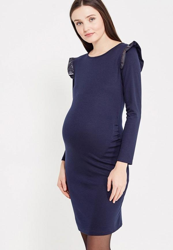 женское повседневные платье mammysize, синее