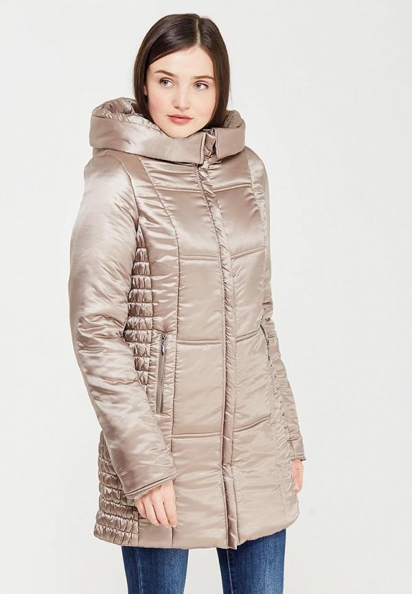 Фото - Куртку утепленная MammySize бежевого цвета