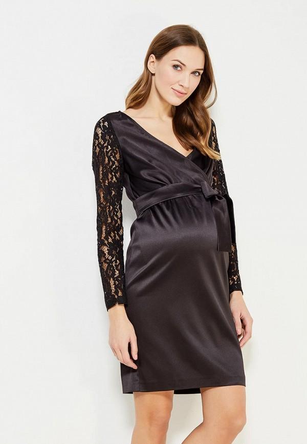 женское вечерние платье mammysize, черное