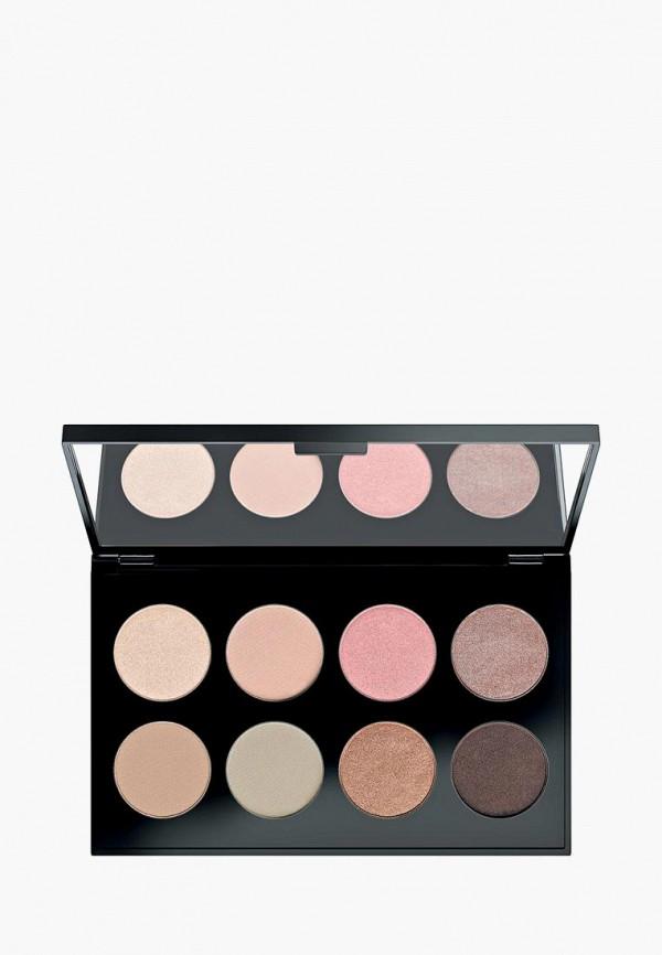 тени для век make up factory, разноцветный