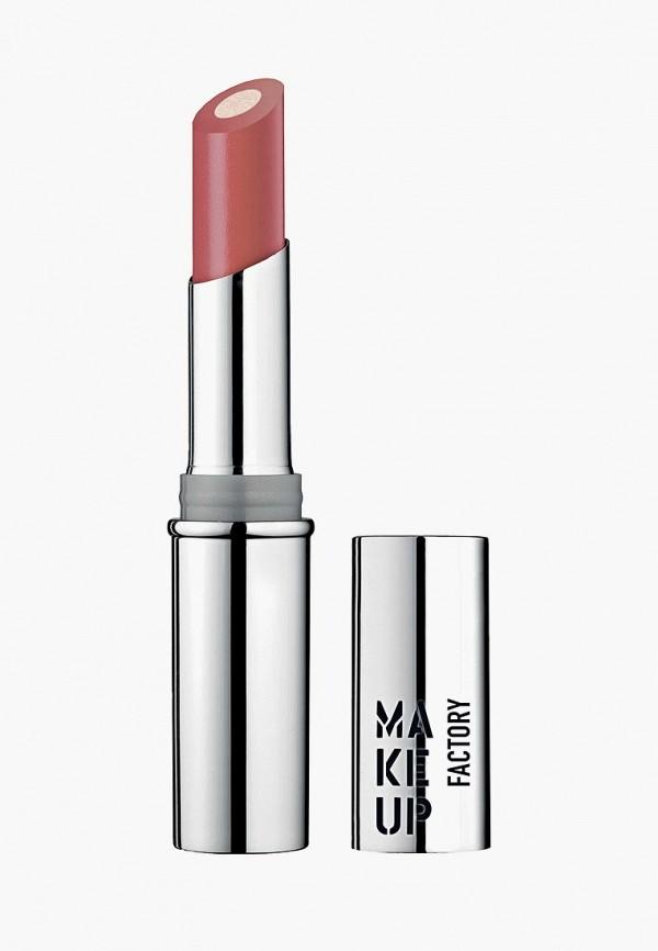 помада make up factory, розовая