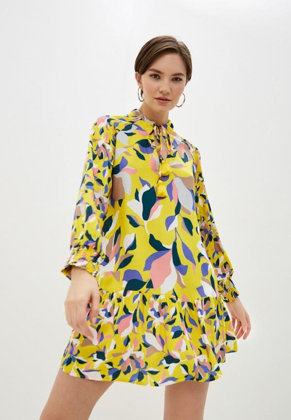 женское платье maaji, желтое