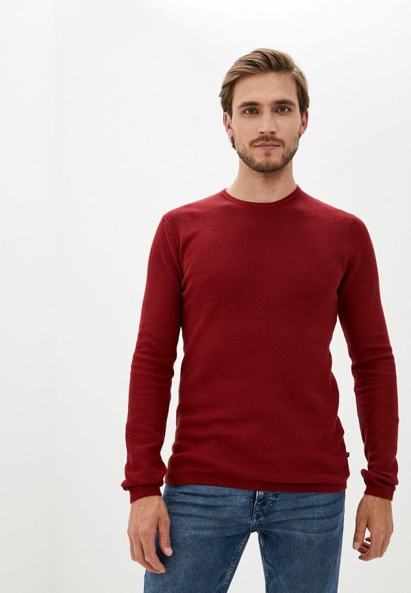 мужской джемпер matinique, бордовый