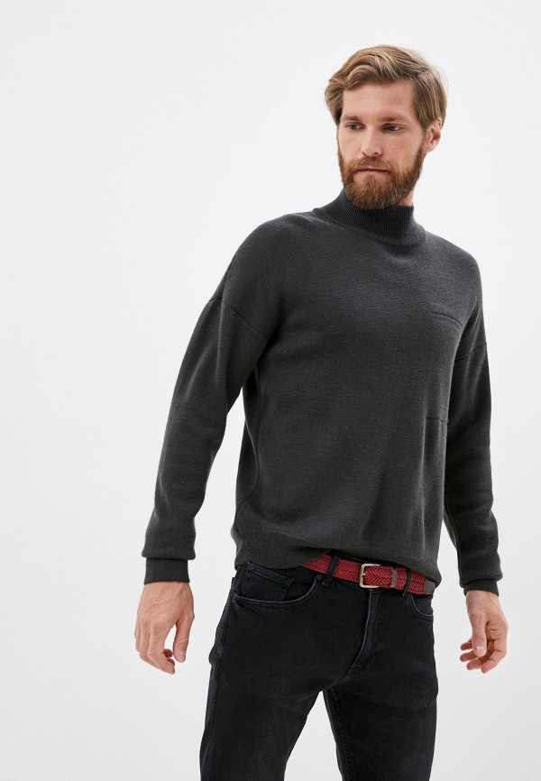 мужской свитер matinique, серый