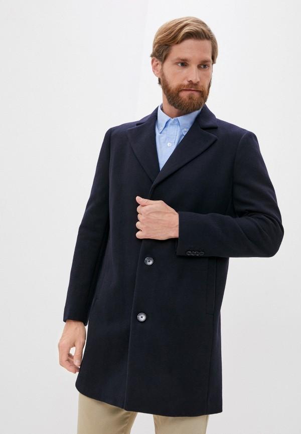 мужское пальто matinique, синее