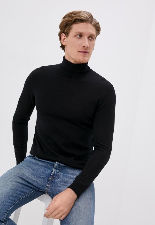 мужская водолазка matinique, черная