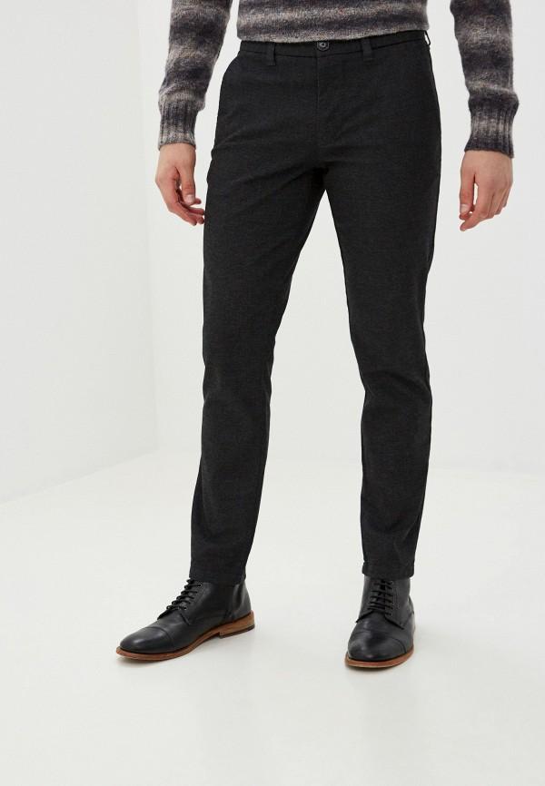 мужские зауженные брюки matinique, серые