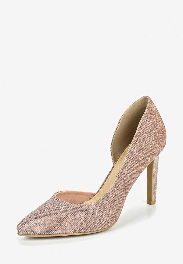 Фото 2 - женские туфли Marco Tozzi розового цвета