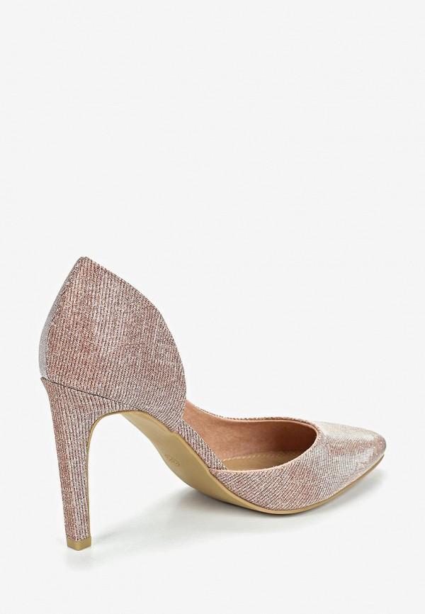 Фото 3 - женские туфли Marco Tozzi розового цвета