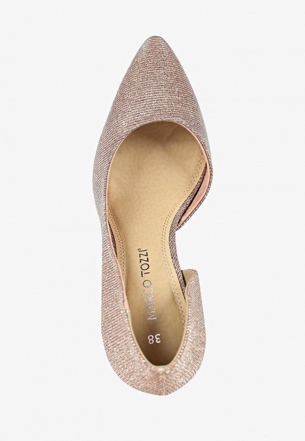 Фото 4 - женские туфли Marco Tozzi розового цвета