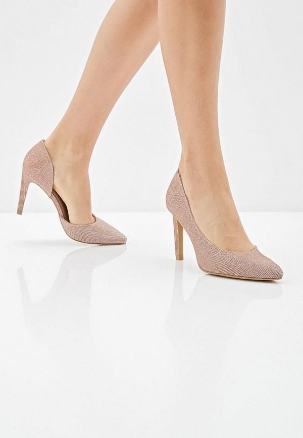Фото 6 - женские туфли Marco Tozzi розового цвета
