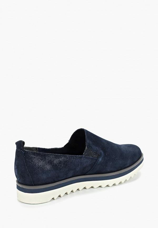 Фото 3 - женские ботинки и полуботинки Marco Tozzi синего цвета