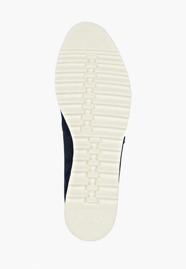 Фото 5 - женские ботинки и полуботинки Marco Tozzi синего цвета