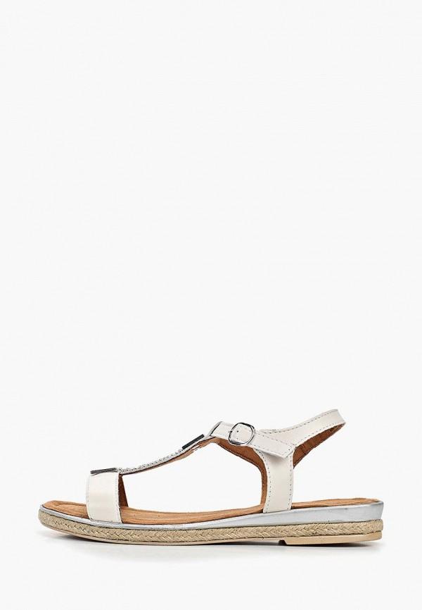 женские сандалии marco tozzi, белые