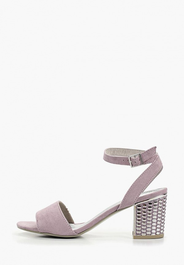 женские босоножки marco tozzi, фиолетовые