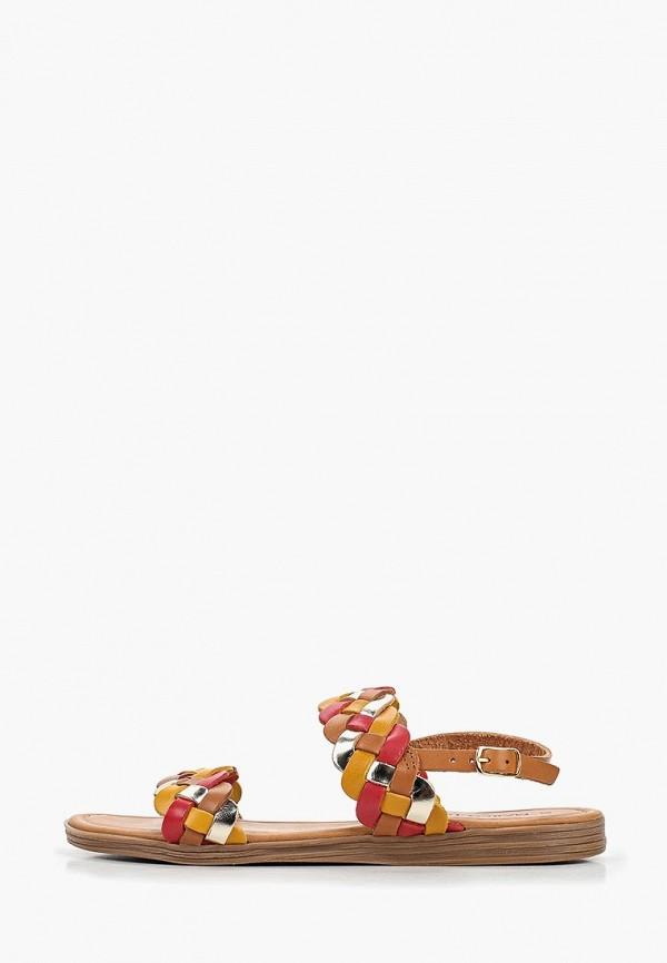 женские сандалии marco tozzi, разноцветные