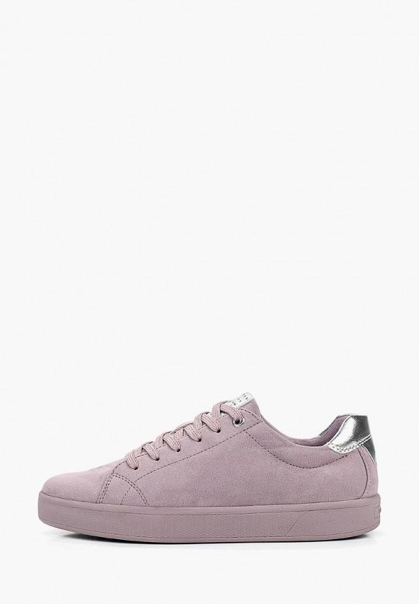 женские кеды marco tozzi, фиолетовые