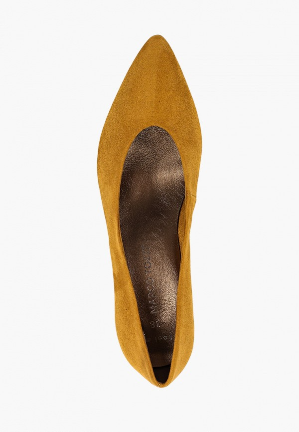 Фото 4 - женские туфли Marco Tozzi желтого цвета