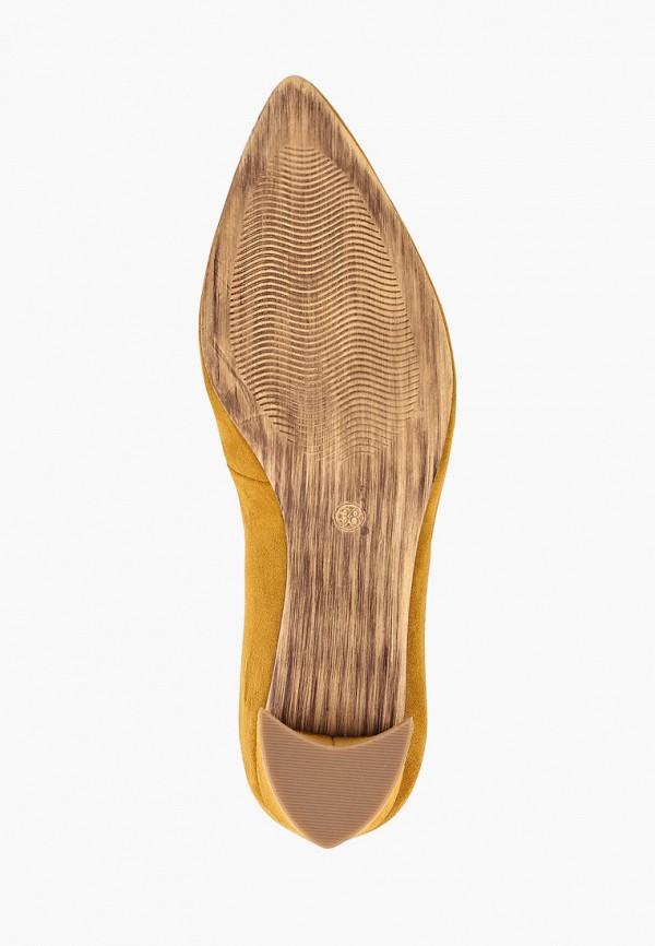 Фото 5 - женские туфли Marco Tozzi желтого цвета