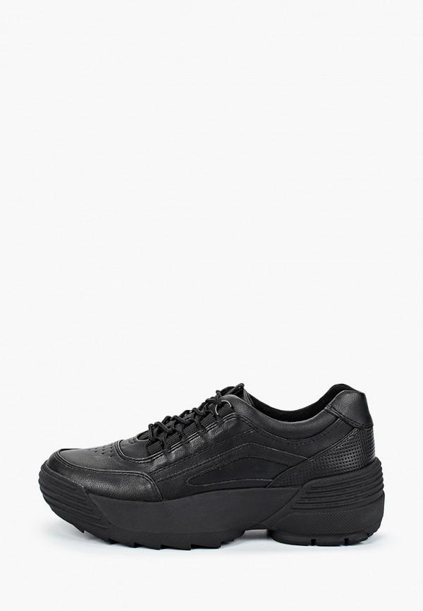 женские кроссовки marco tozzi, черные