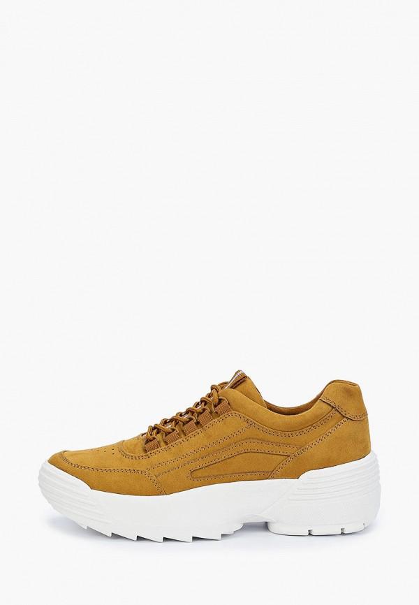 женские кроссовки marco tozzi, желтые