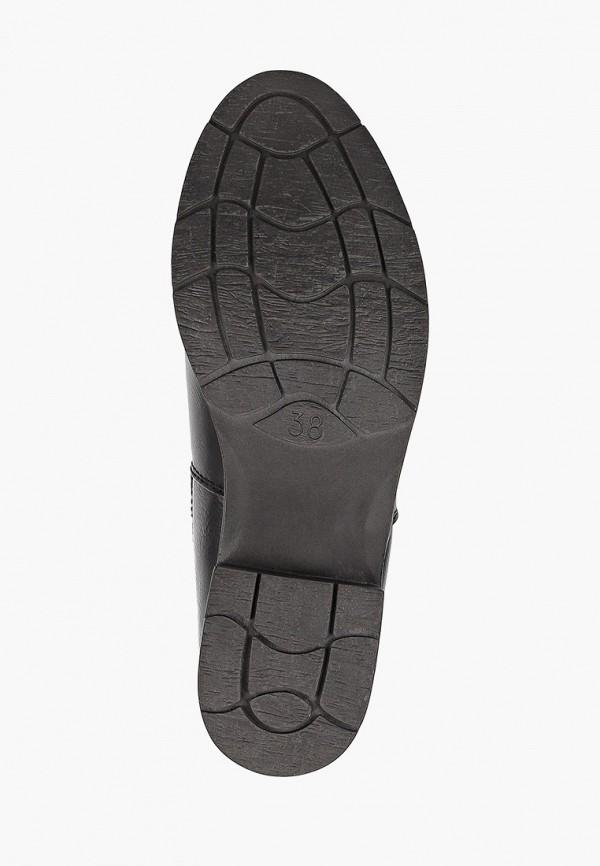 Фото 5 - женские ботинки и полуботинки Marco Tozzi черного цвета