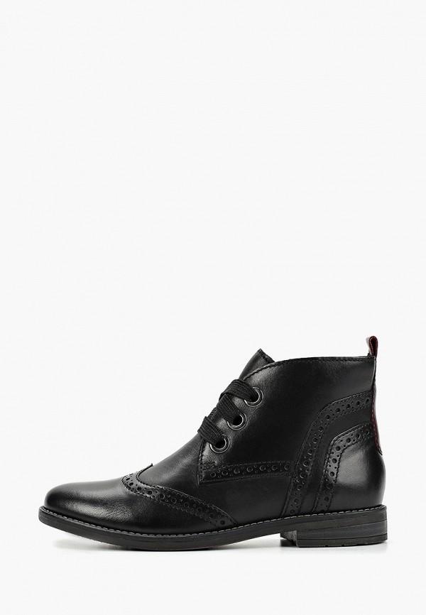Фото - женские ботинки и полуботинки Marco Tozzi черного цвета