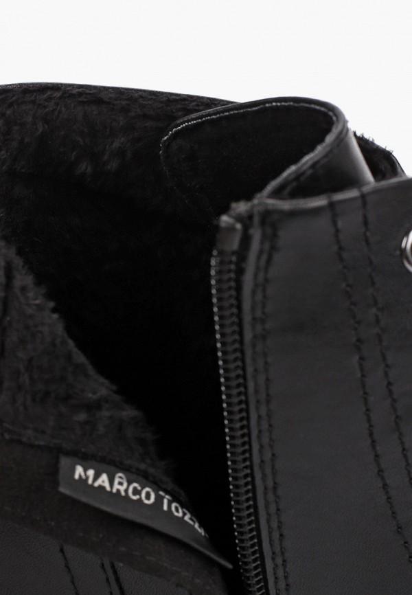 Фото 6 - женские ботильоны Marco Tozzi черного цвета