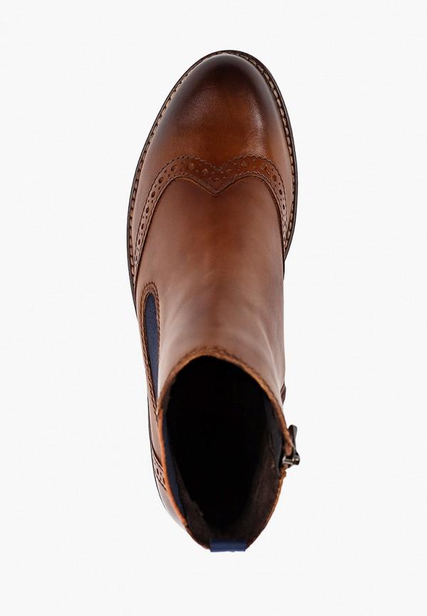 Фото 4 - женские ботинки и полуботинки Marco Tozzi коричневого цвета