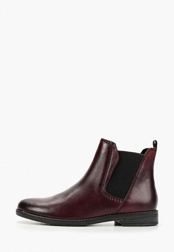женские ботинки marco tozzi, бирюзовые