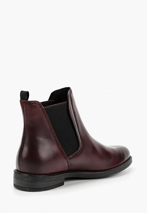 Фото 3 - женские ботинки и полуботинки Marco Tozzi бирюзового цвета