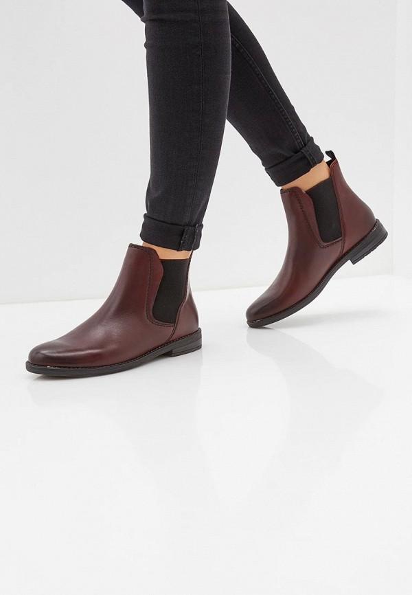 Фото 6 - женские ботинки и полуботинки Marco Tozzi бирюзового цвета