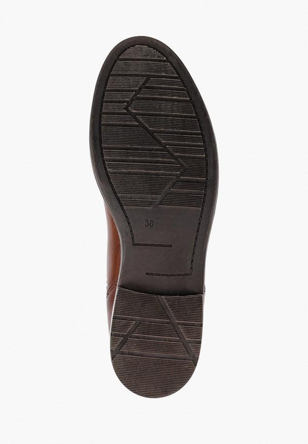 Фото 5 - женские ботинки и полуботинки Marco Tozzi коричневого цвета