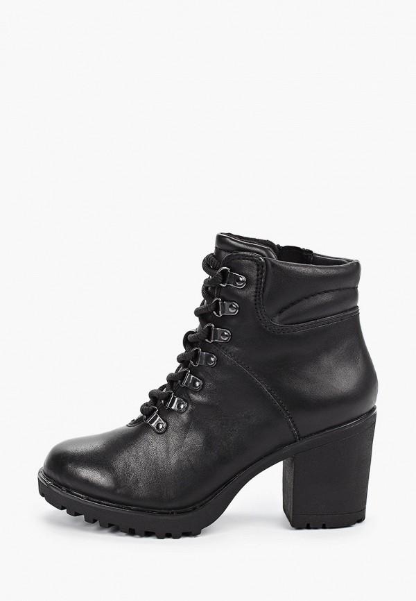 женские ботильоны marco tozzi, черные