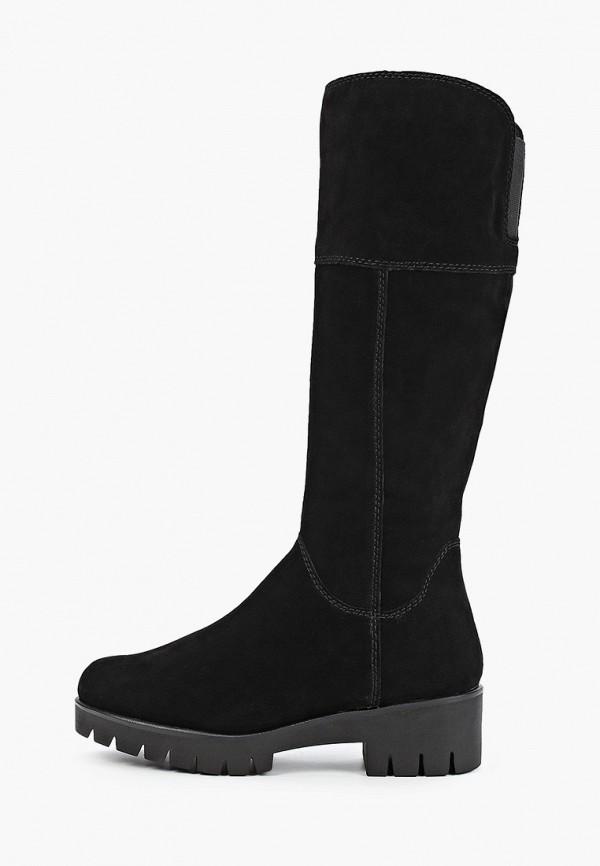женские сапоги marco tozzi, черные