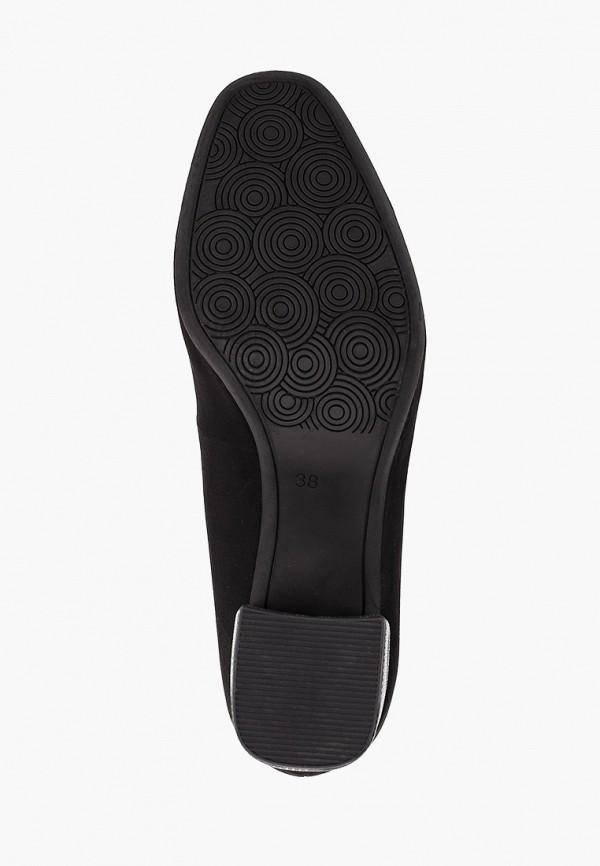 Фото 5 - женские туфли Marco Tozzi черного цвета