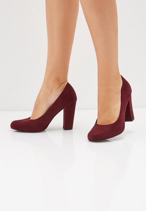 Фото 6 - женские туфли Marco Tozzi бордового цвета