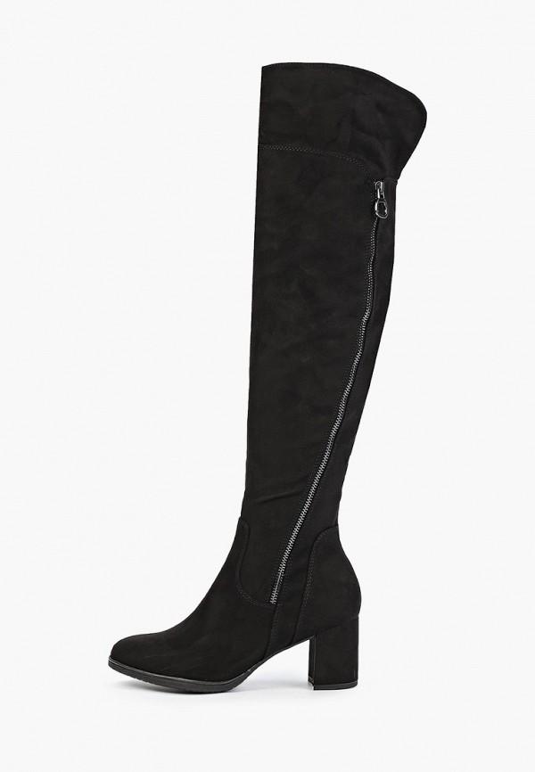 женские ботфорты marco tozzi, черные