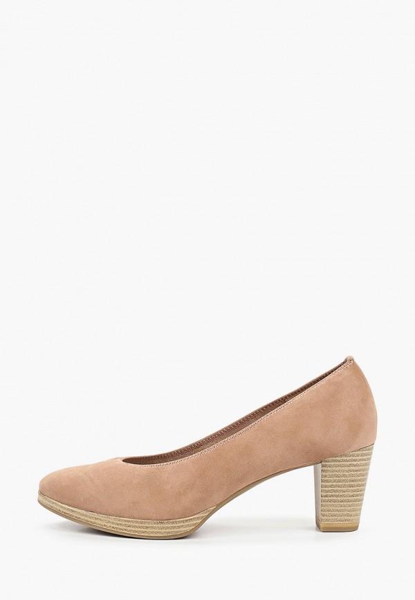 женские туфли marco tozzi, розовые