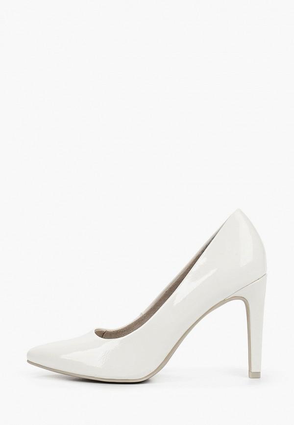 женские туфли marco tozzi, белые