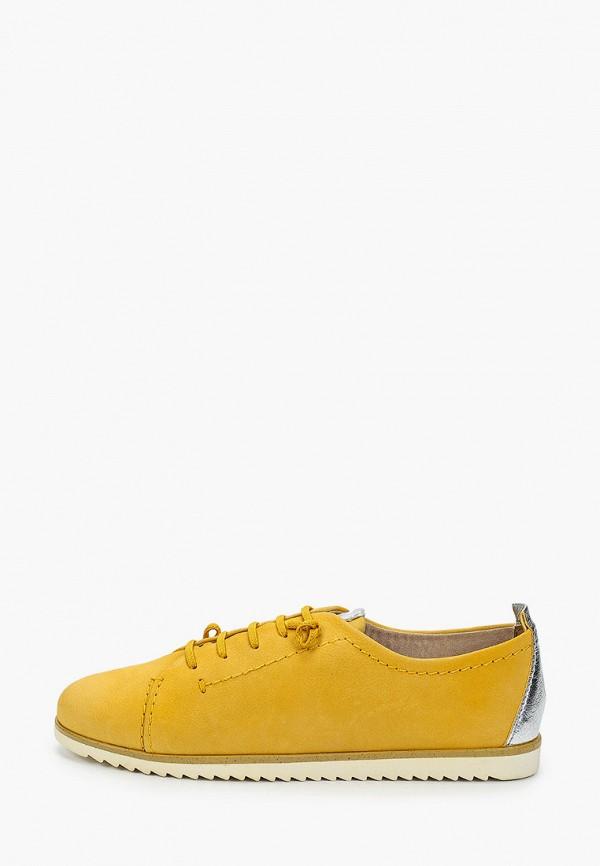 женские кеды marco tozzi, желтые