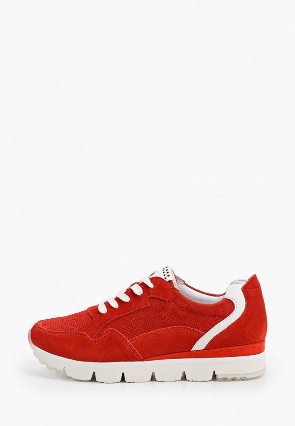 женские кроссовки marco tozzi, красные