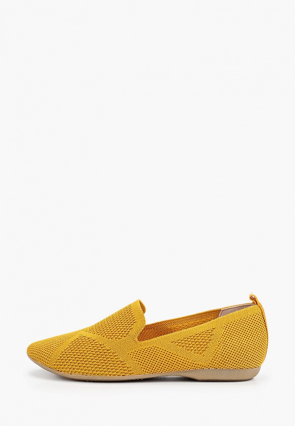 женские лоферы marco tozzi, желтые