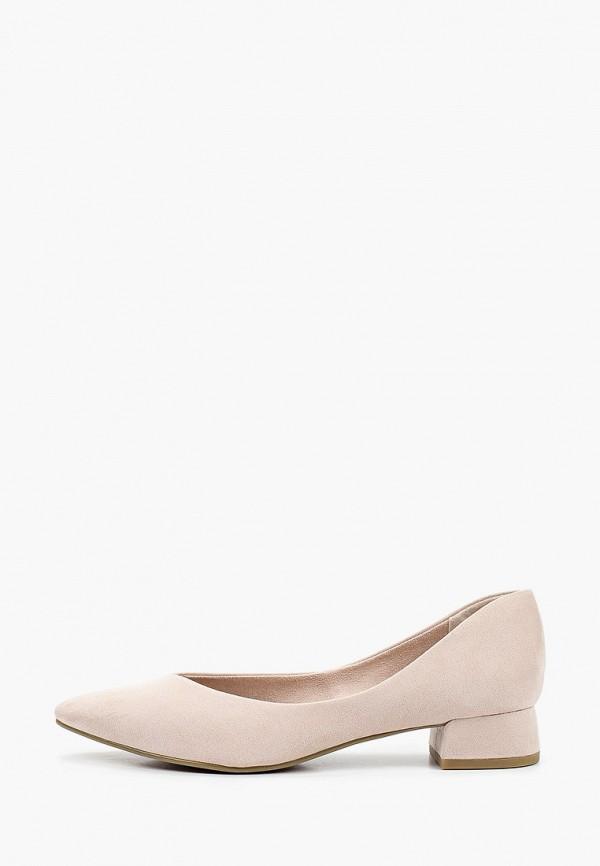 женские туфли marco tozzi, бежевые
