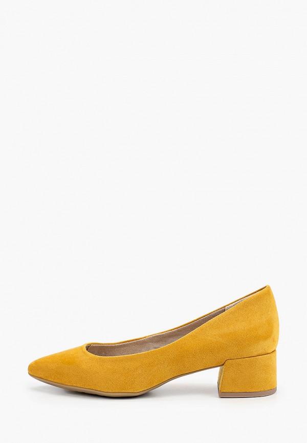 женские туфли marco tozzi, желтые