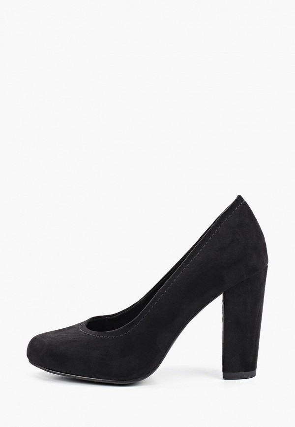 женские туфли marco tozzi, черные